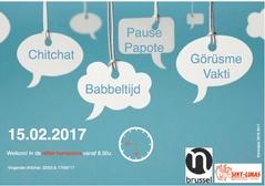 Chit Chat - Babbeltijd   Woensdag 15 februari