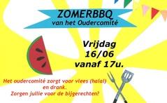 Zomerbbq | vrijdag 16 juni